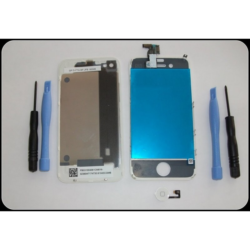 PANTALLA TACTIL IPHONE 4 TOUCH SCREEN DIGITALIZADOR CON TAPA TRASERA
