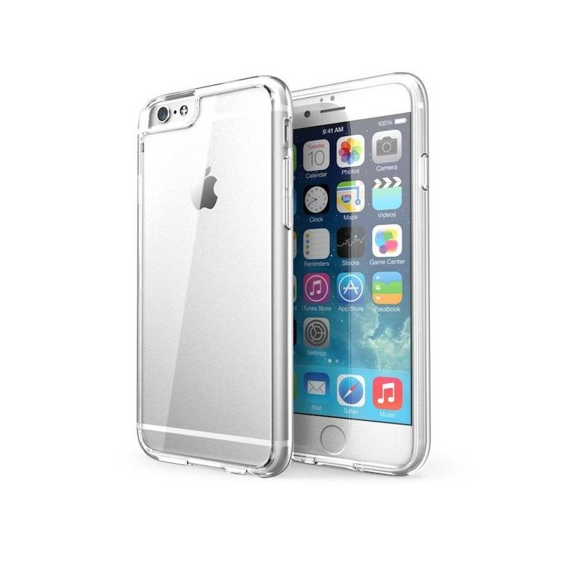 Funda De Gel Silicona Transparente Para Iphone 6 4 7