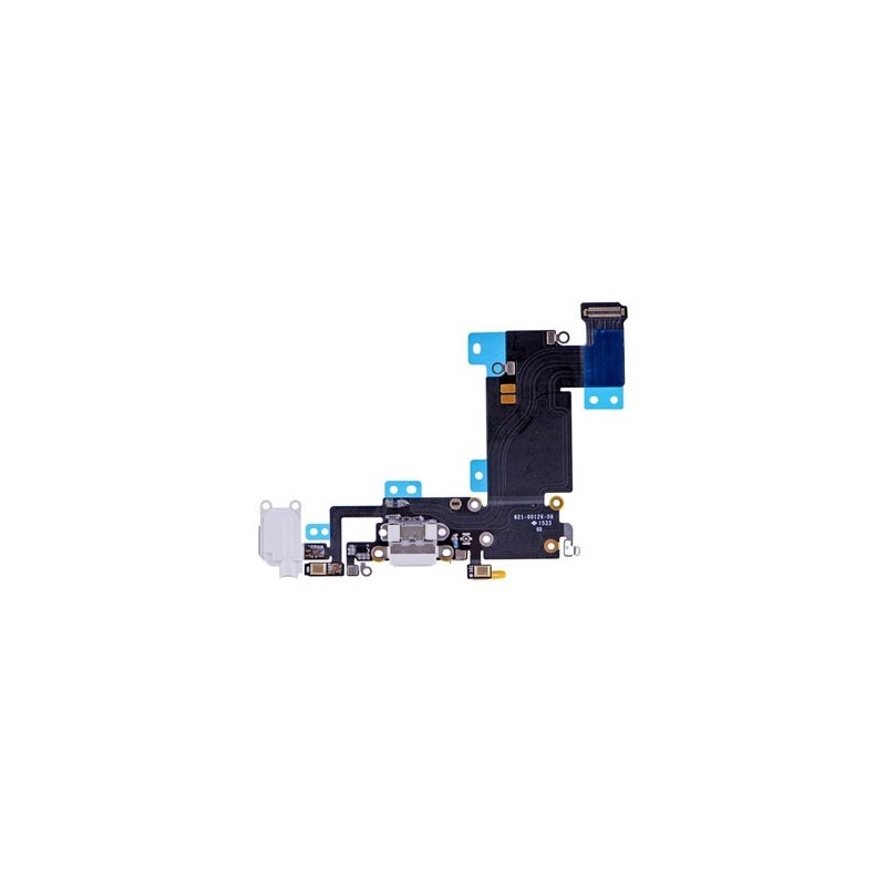 Dock de Carga Para iPhone 6S Plus Flex Conector USB Micrófono Jack