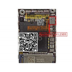 Set Reparación Pantalla Retroiluminación iPhone 6 6 Plus Diodos IC Chip U1502 L1503 D1501 + Filtros Fl4211