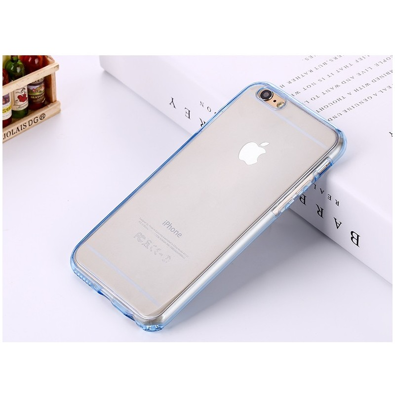 carcasa silicona transparente iphone 6s
