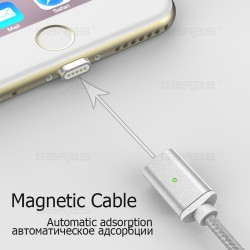 Cable Magnético X-cable iPhone / Android / Tipo C Garas®