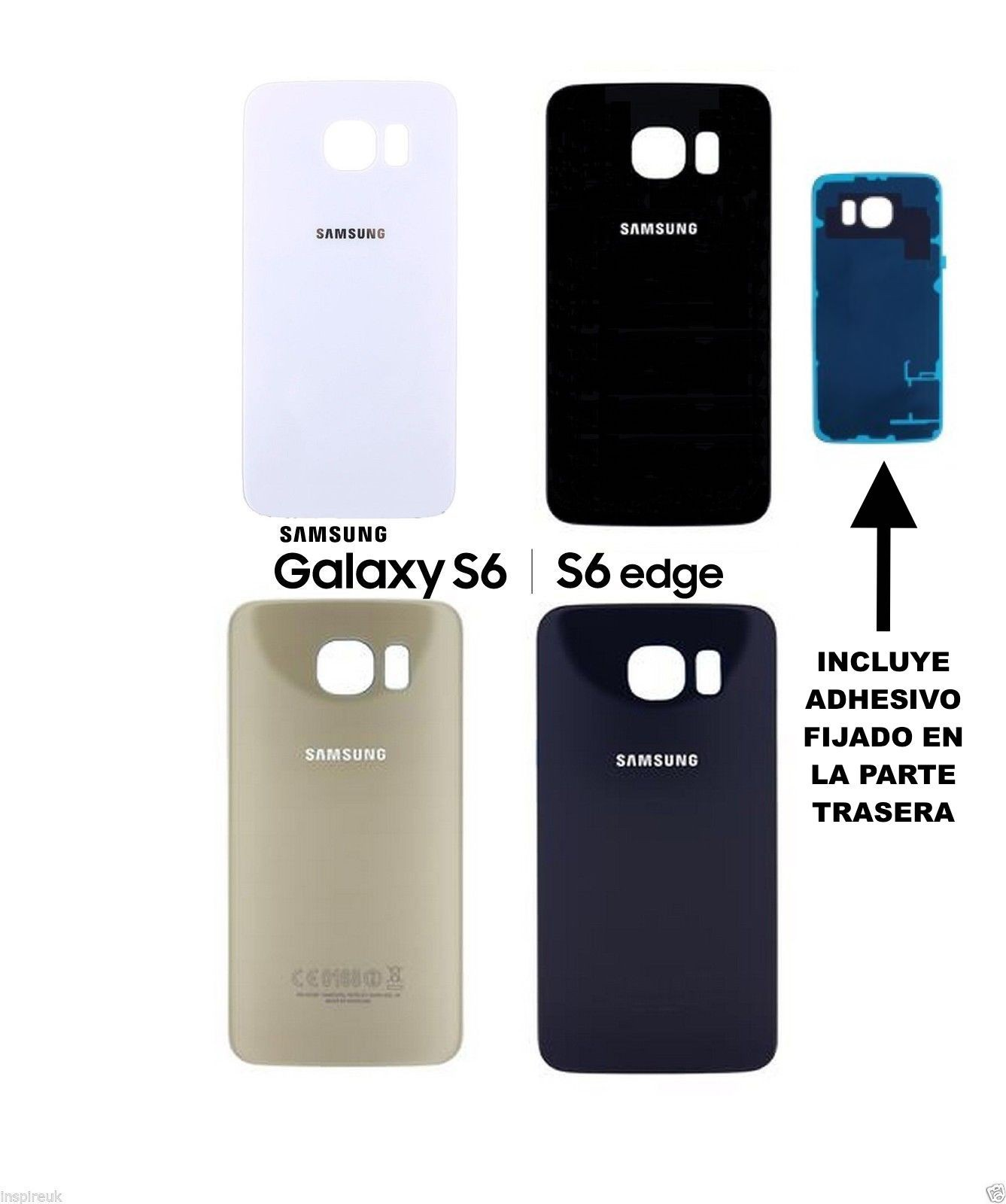 carcasa samsung galaxy s6 edge original
