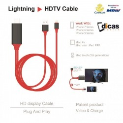 Cable Lightning Cargador y video HDTV